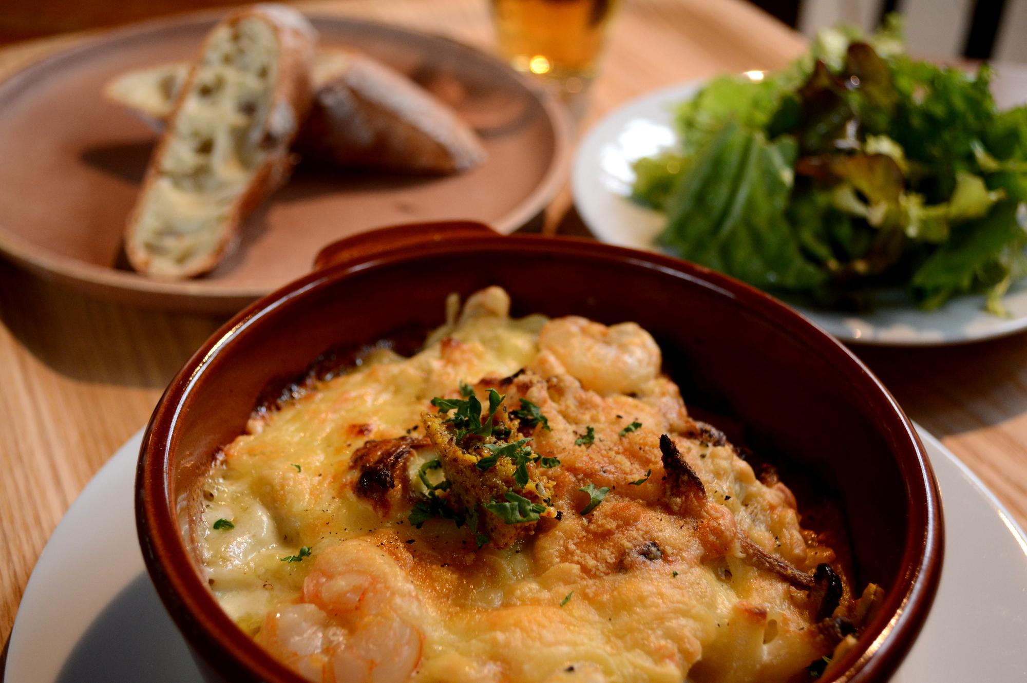 那須Shozo通りのChus三種チーズグラタン