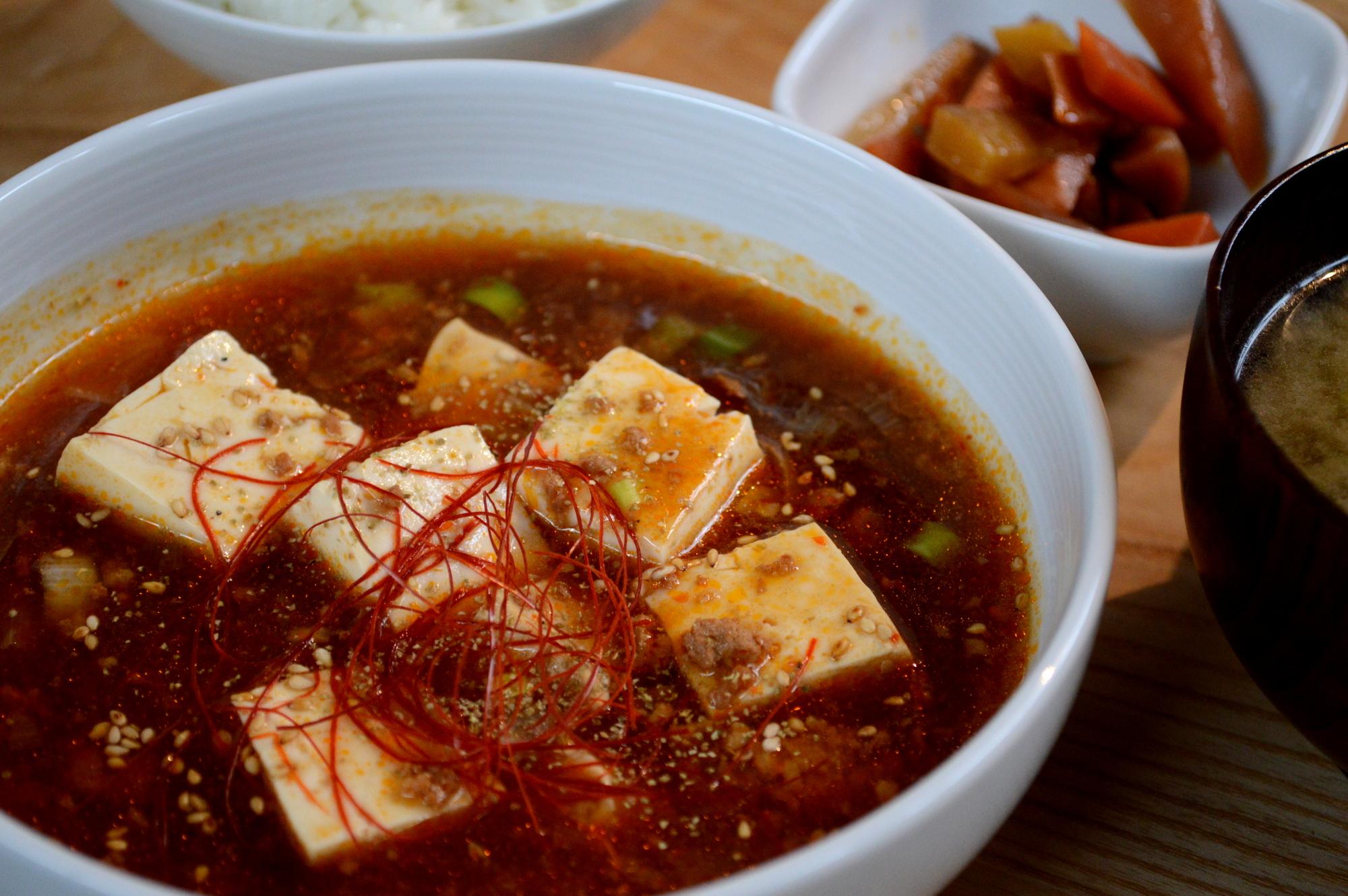 那須Shozo通りのChus麻婆豆腐定食