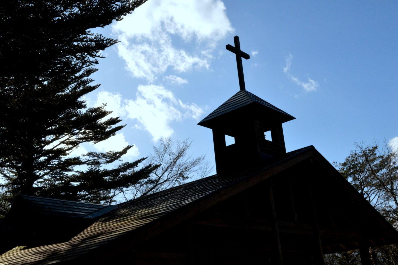 那須高原教会のチャペルの鐘