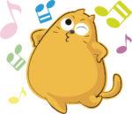 可愛い猫ルンルン