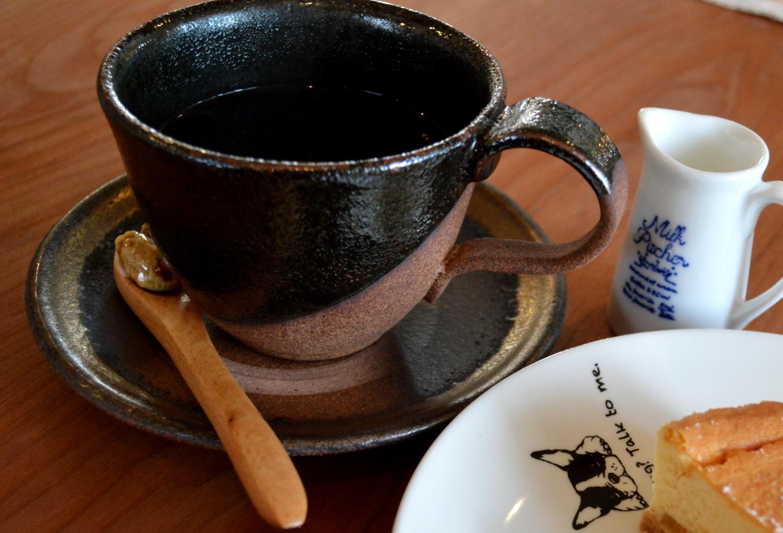 那須高原のcafeサンクロワのマンデリンコーヒー