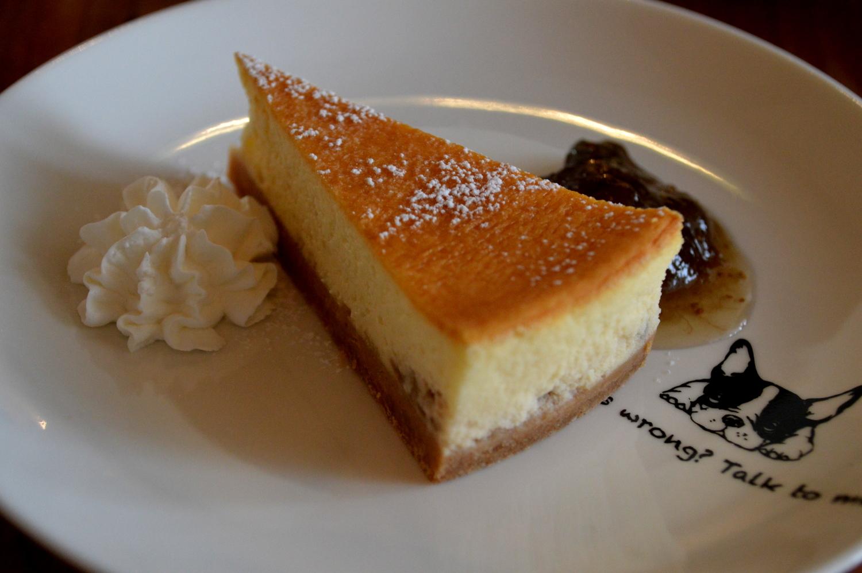 那須高原のcafeサンクロワのチーズケーキは真庭ファーム製