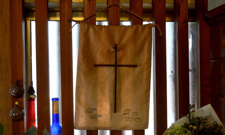 那須高原のパン屋クローチェの十字架の飾り