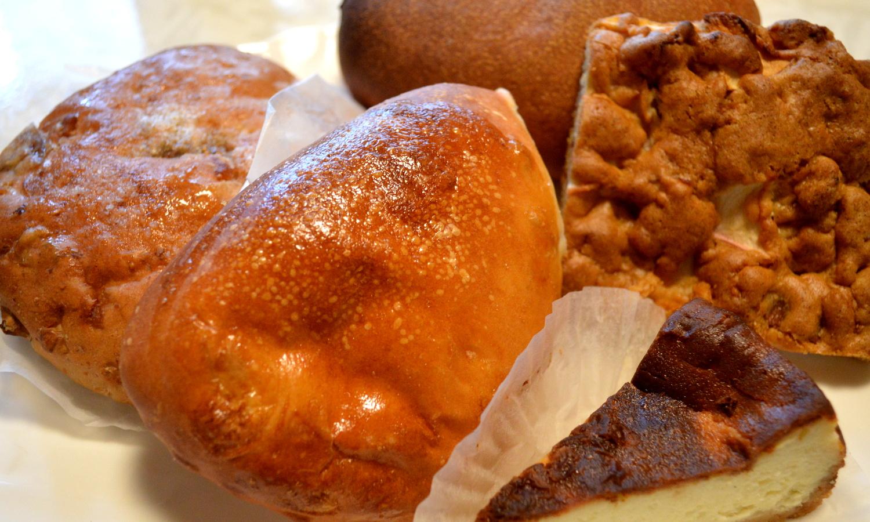 那須高原のパン屋クローチェで購入したパンは5種類