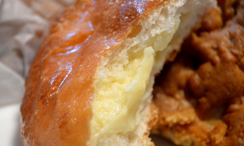 那須高原のパン屋クローチェのクリームパン