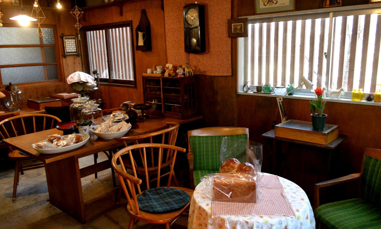 那須高原のパン屋クローチェは田舎の家の気取らない雰囲気