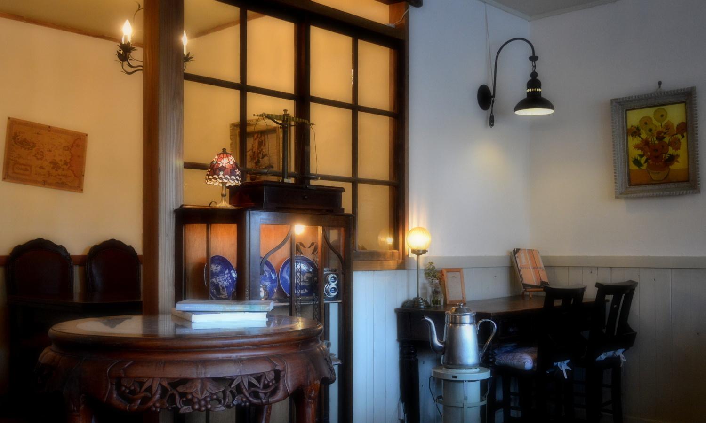 那須町黒田原の自家焙煎ディトンツの空間