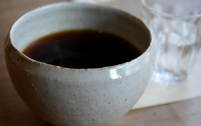益子町のANDcafeのコーヒー