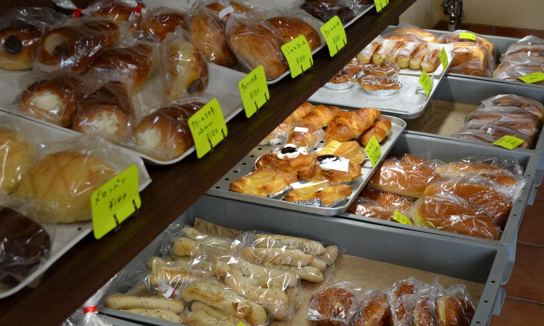 那須町黒田原のますやパン店の海水酵母のパン