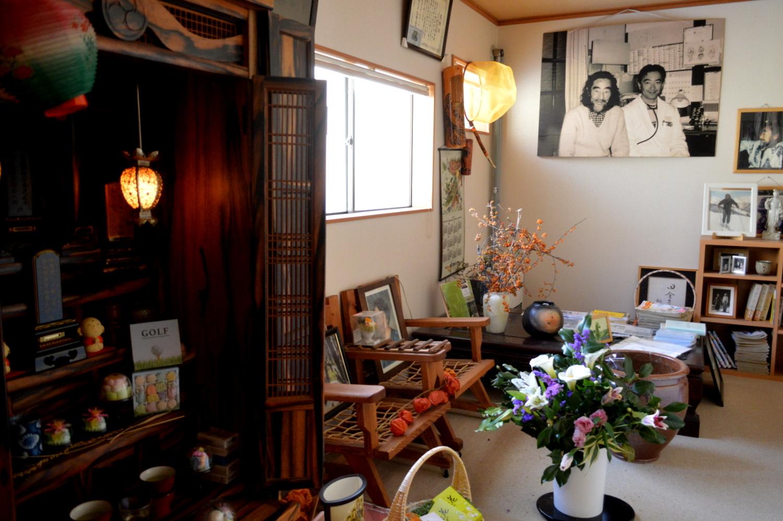 那須・見川鯛山先生の位牌のある仏間