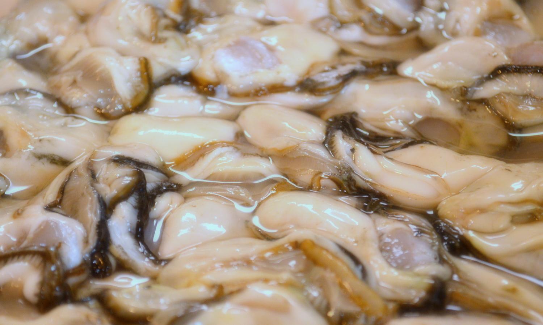 那須高原のハワイアンラナイカフェの幻の的矢牡蠣