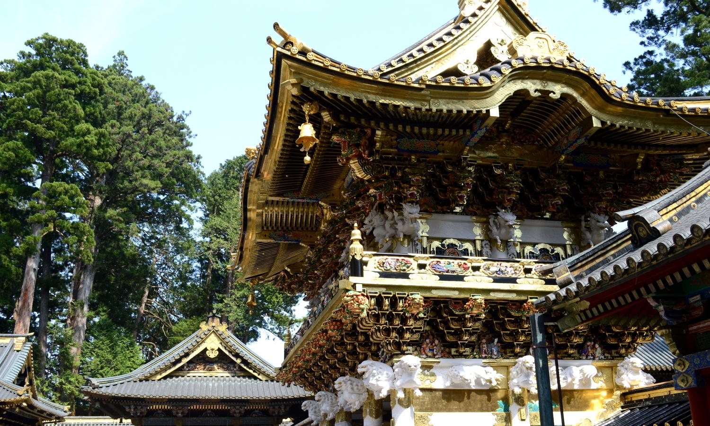日光東照宮は京都御所の東を守る陽明門