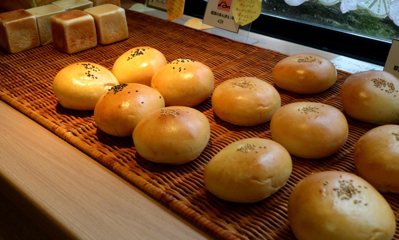 那須のパン・トゥ・ルアンのアンパンコーナー