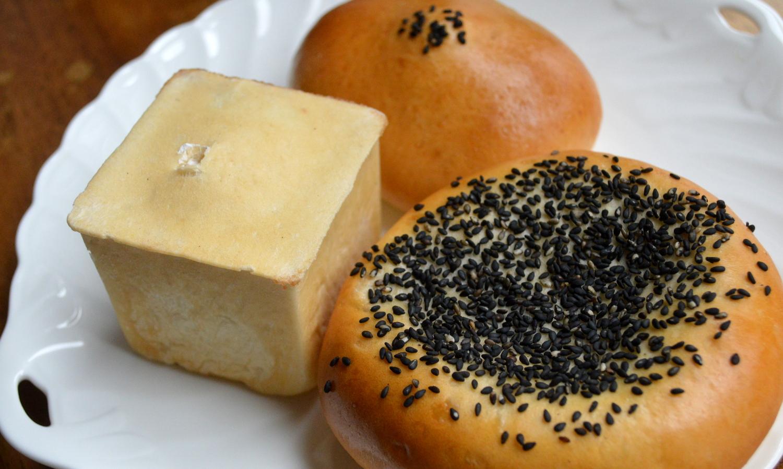 那須のパン・トゥ・ルアンのあんぱん3種