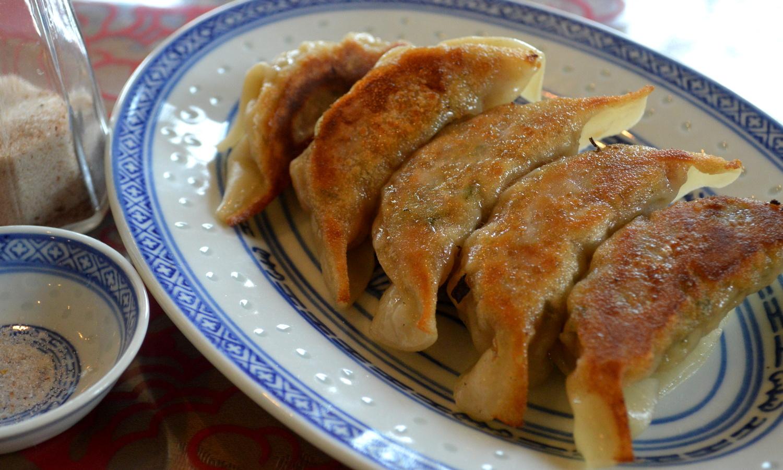 那須高原の中華食堂つなしまの特製手造り餃子