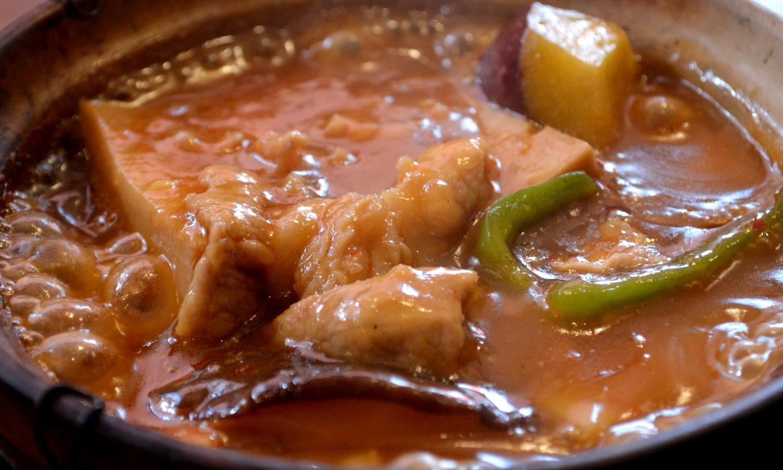 那須の中国茶寮遊山の油淋鶏