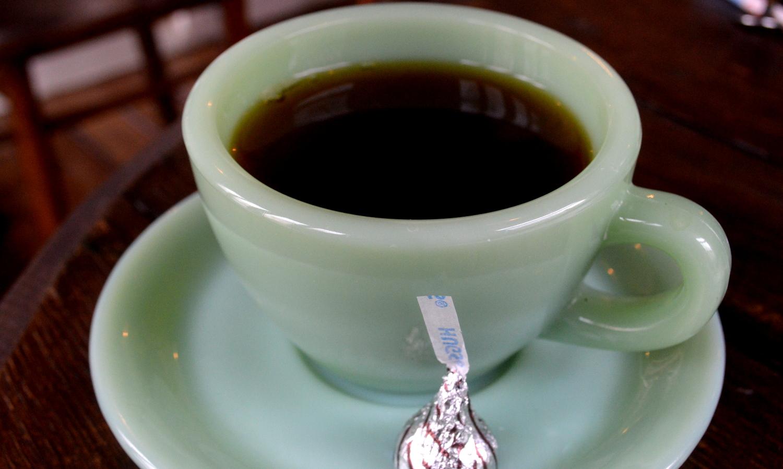 那須GTcafeのファイヤーキングのカップ