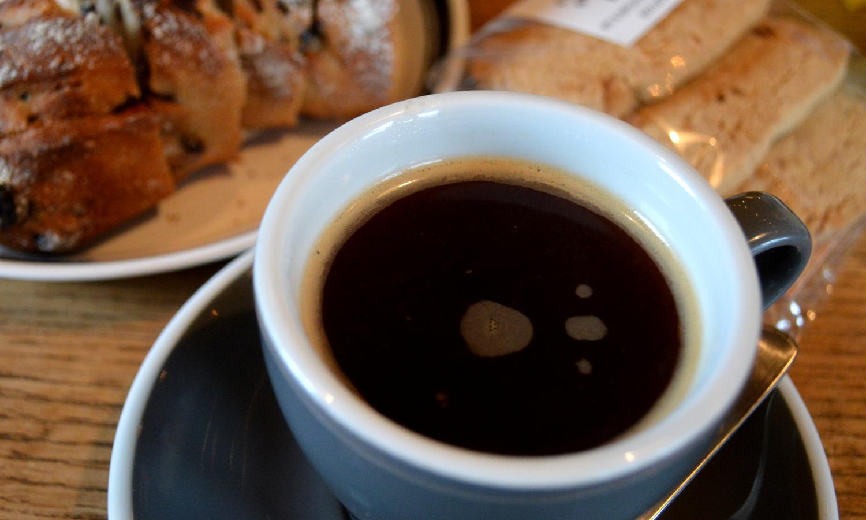 黒磯のイリスカフェのコーヒー