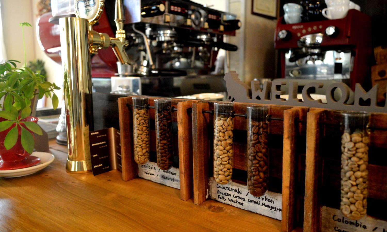 フランクリンズカフェのスペシャルティーコーヒー