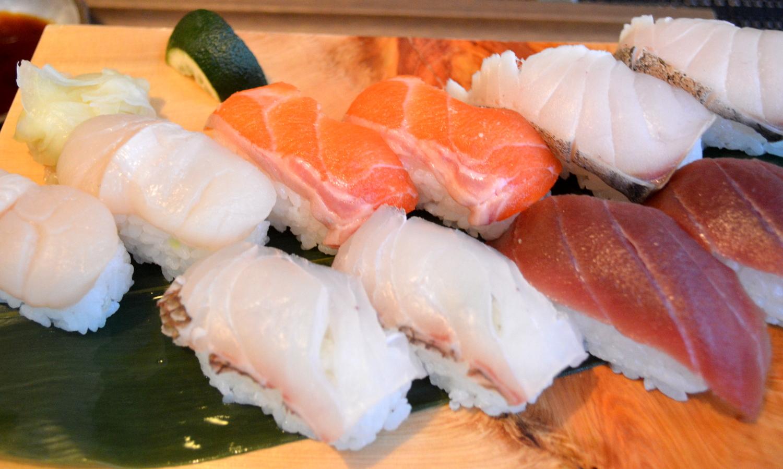 エピナール菜す乃の握り寿司