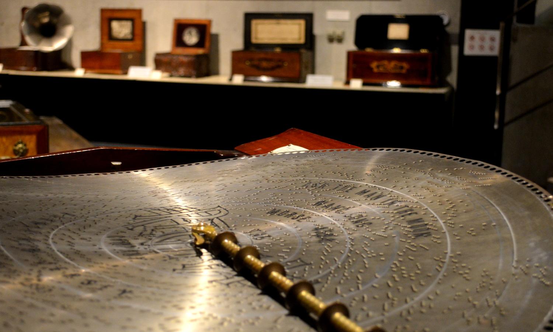 那須オルゴール美術館のディスク型のオルゴール