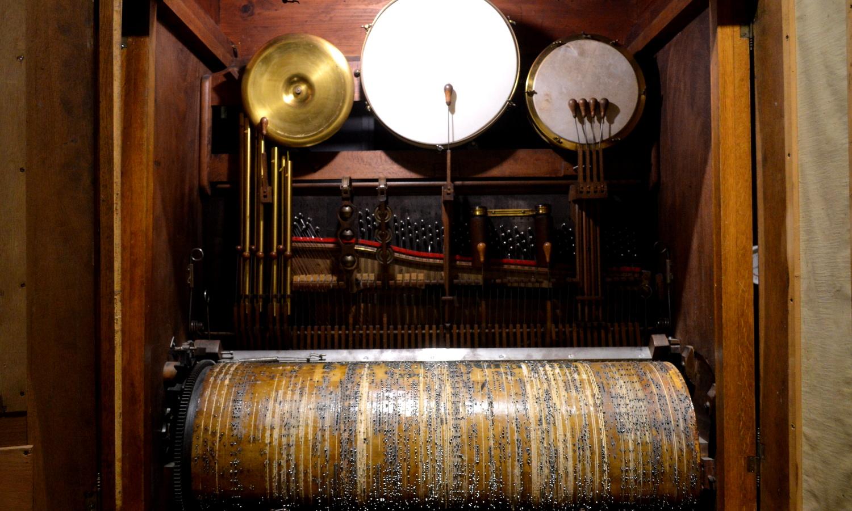 那須オルゴール美術館のオーケストラ型のオルゴール