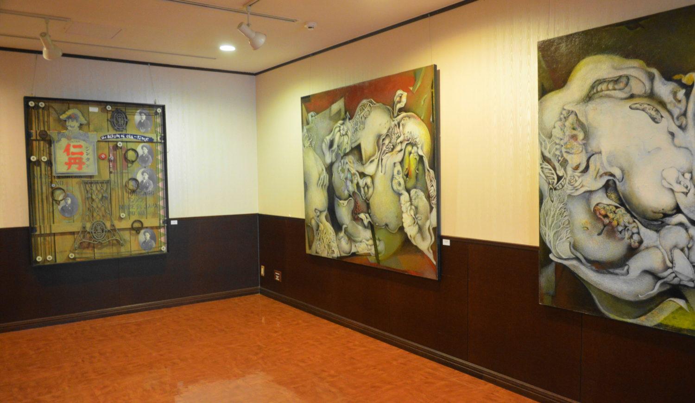 那須高原芸術祭の作品絵画