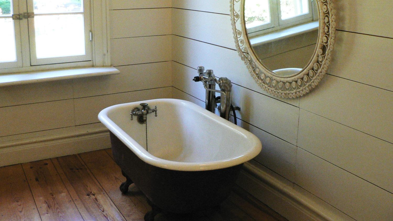 那須塩原市青木の青木周蔵邸のバスルーム