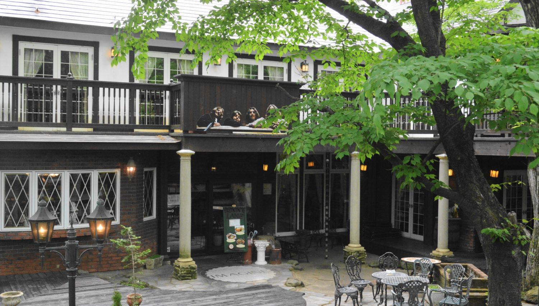 那須ペニーレインのカフェレストラン入り口