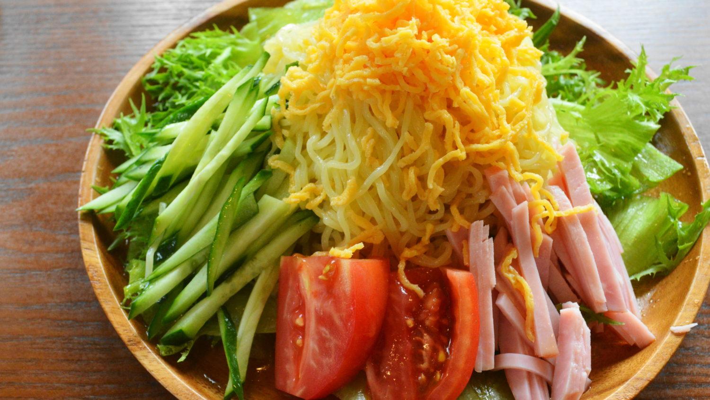 遊山の野菜たっぷり冷やし中華