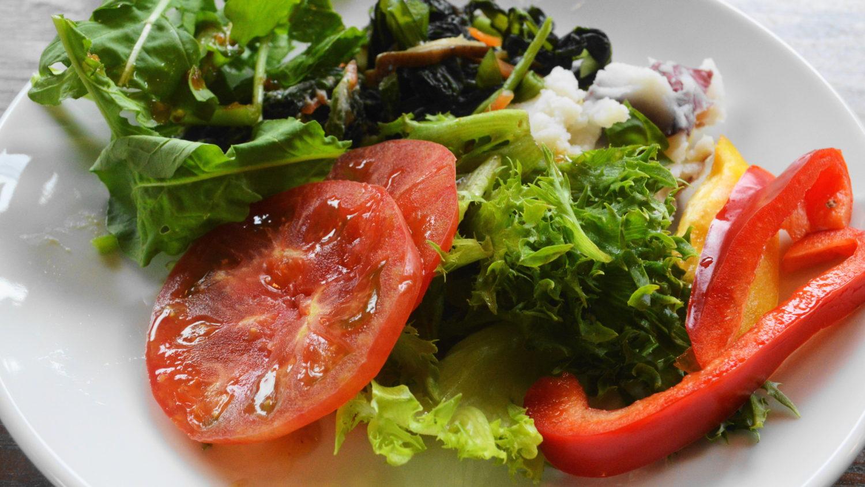 遊山のたっぷり野菜の前菜