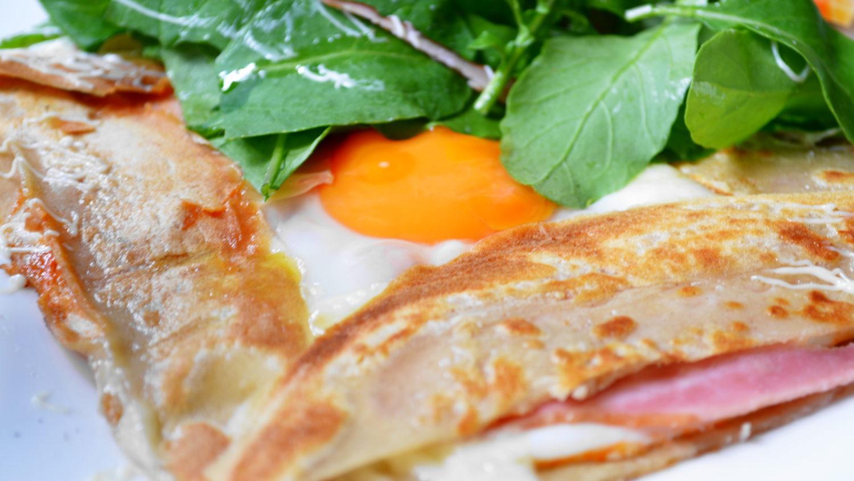 大田原市ハズキのガレットの卵