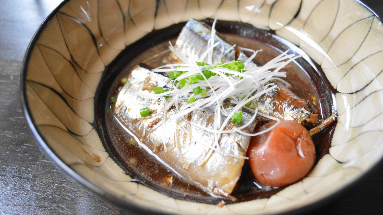 大田原市ハズキのサンマ料理