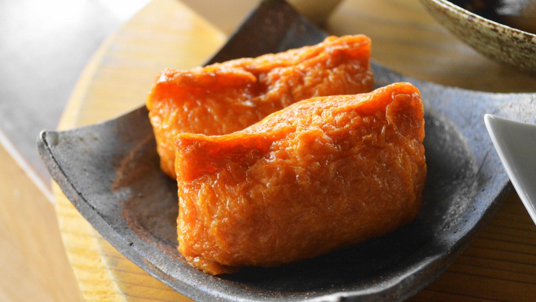 那須町の瑞穂蔵のなすべん稲荷寿司