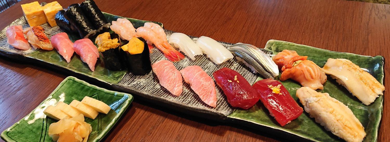 那須のなすべえのお寿司all