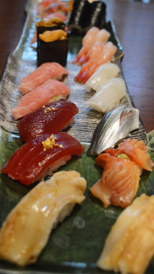 那須のなすべえのお寿司全体