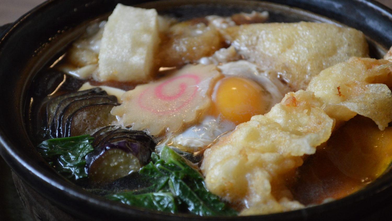 那須峠茶屋の鍋焼きうどん