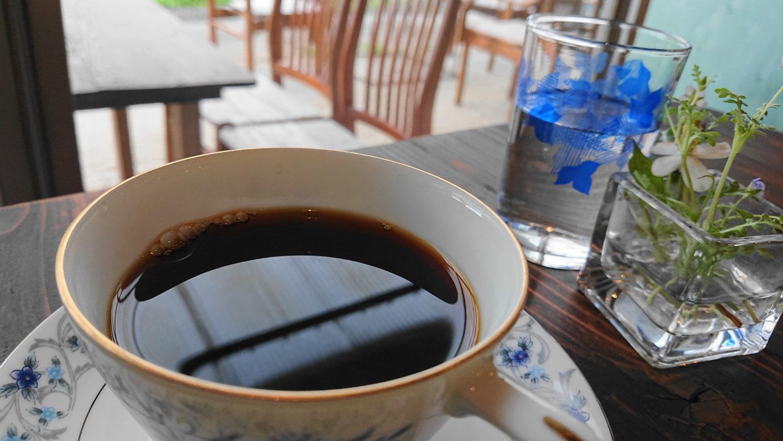 那須高原の蕾のドリップコーヒー