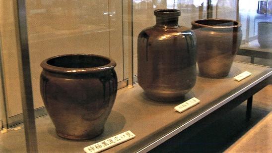 那須町歴史探訪間に残る薄室焼