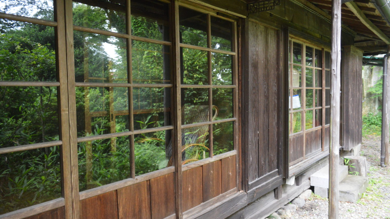 山田農場の事務所跡