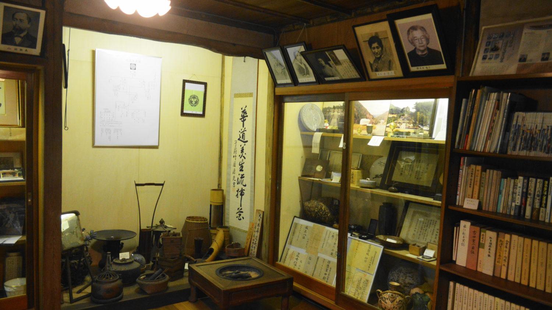 那須町の山田資料館の展示品