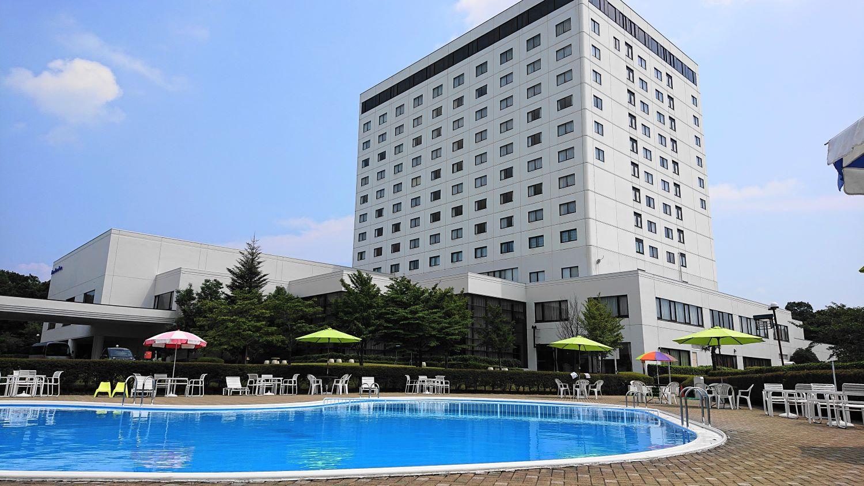 ロイヤルホテル那須のプール