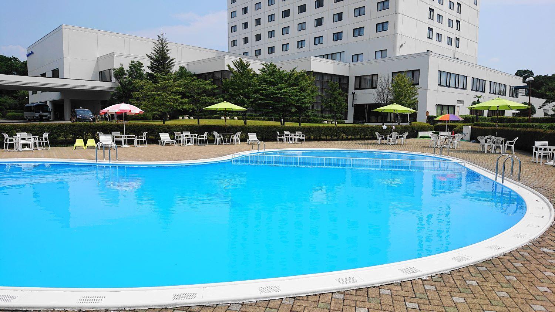 ロイヤルホテル那須の幼児から入れるプール