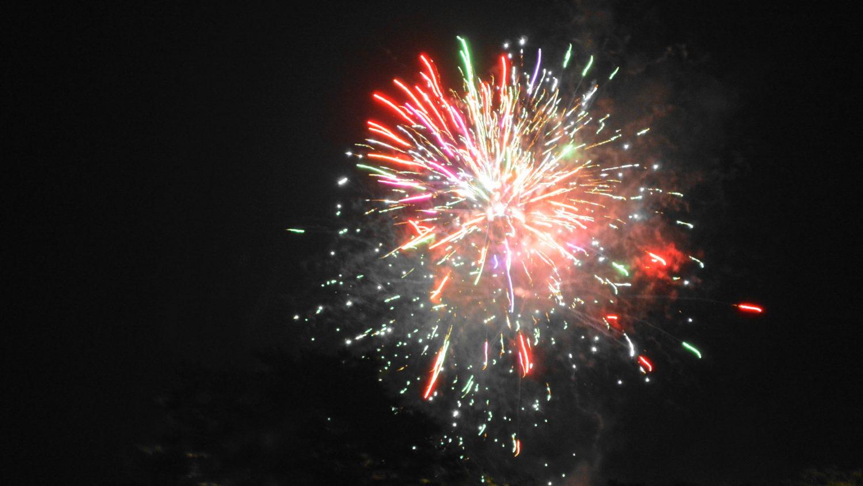 りんどう湖LAKEVIEWの花火