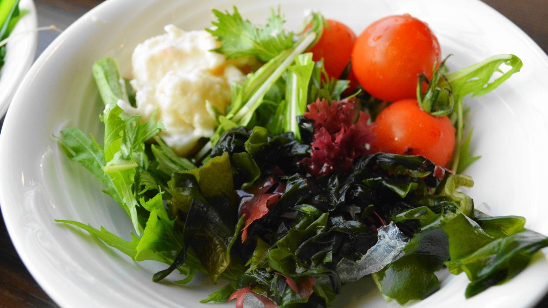 りんどう湖MEKKEのブッフェ温野菜