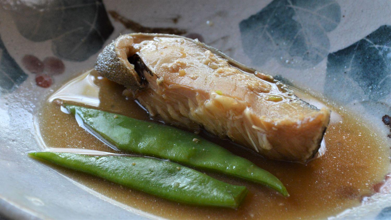 百笑坊の煮魚