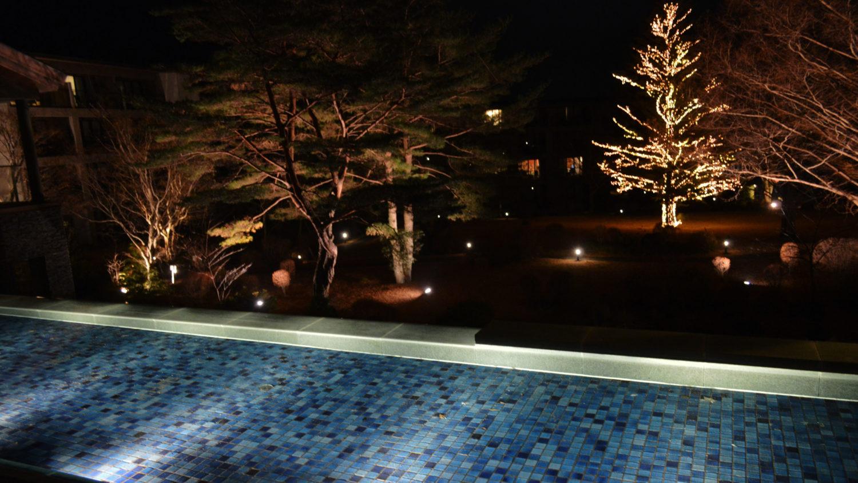 ホテルハーヴェスト那須のクリスマスツリー