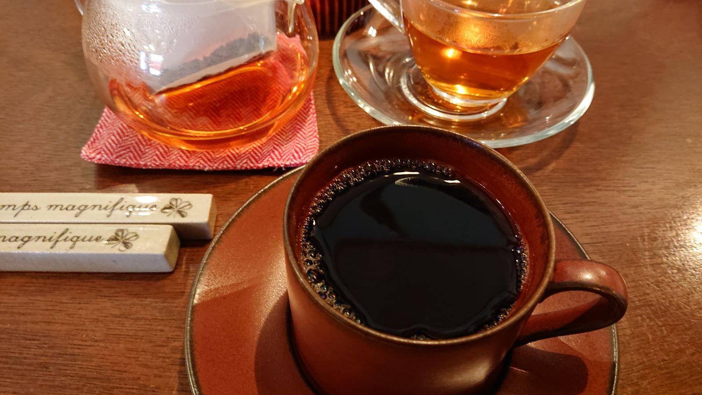 菜園レストラン「カシェット」のコーヒー