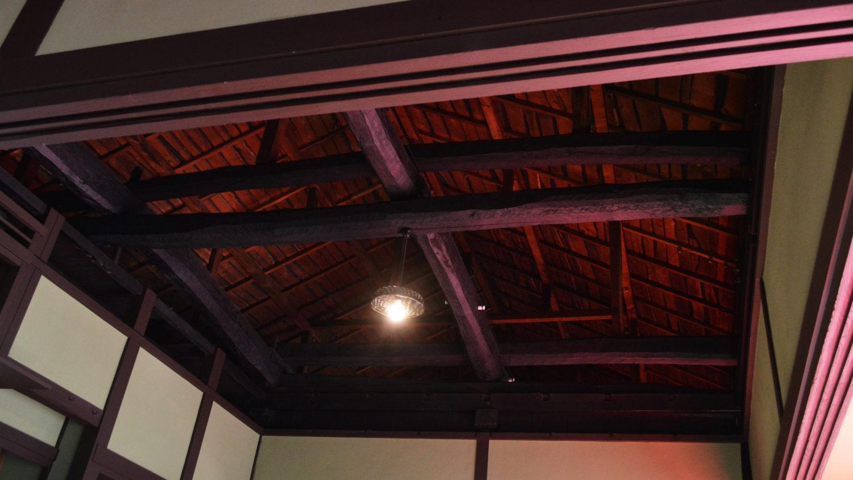 江戸食堂の天井
