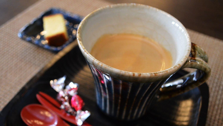 那須塩原の大和屋かふぇのブレンドコーヒー